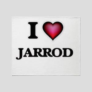 I love Jarrod Throw Blanket
