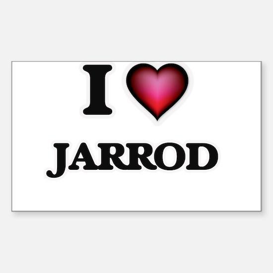 I love Jarrod Decal