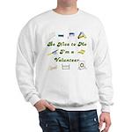 Agility Volunteer Sweatshirt