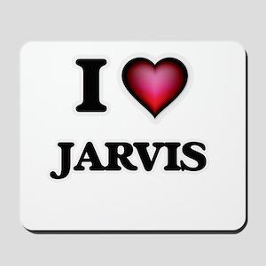 I love Jarvis Mousepad