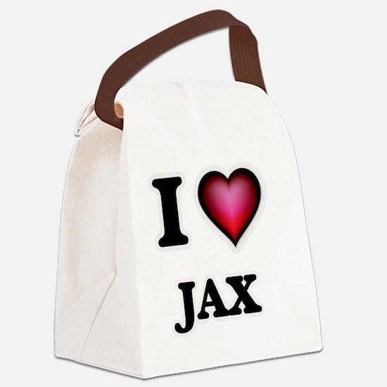 Unique Valentin Canvas Lunch Bag