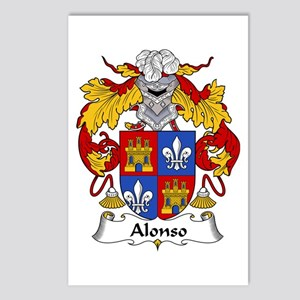 Alonso II Postcards (Package of 8)