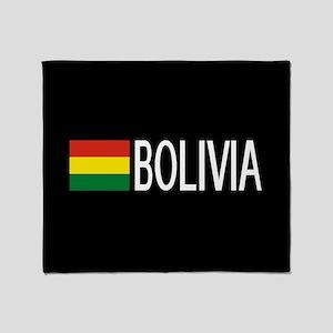 Bolivia: Bolivian Flag & Bolivia Throw Blanket