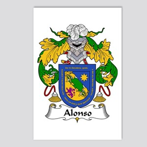 Alonso I Postcards (Package of 8)