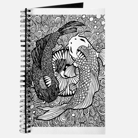 Yin yang pisces stationery cards invitations greeting cards more yin yang pisces journal sciox Gallery
