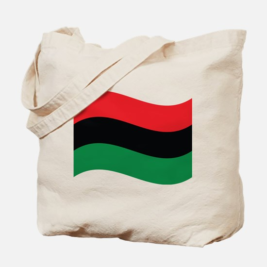 The Red, Black and Green Flag Tote Bag