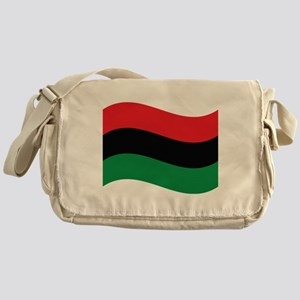 The Red, Black and Green Flag Messenger Bag
