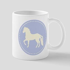 Paso Fino horse silhouette Mugs
