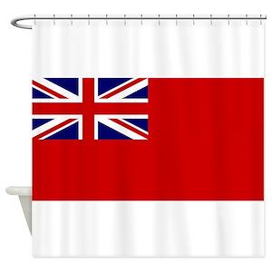 England Flag Shower Curtains