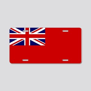 Red Duster Union Jack Aluminum License Plate