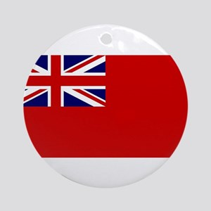 Red Duster Union Jack Round Ornament