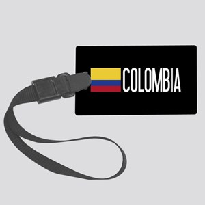 Colombia: Colombian Flag & Colom Large Luggage Tag
