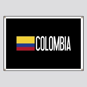 Colombia: Colombian Flag & Colombia Banner