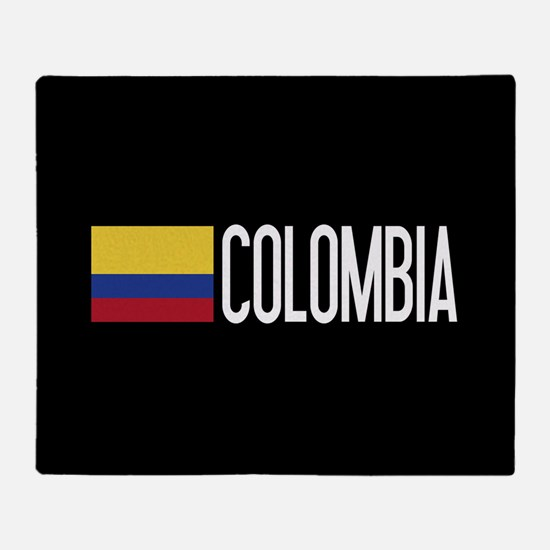 Colombia: Colombian Flag & Colombia Throw Blanket
