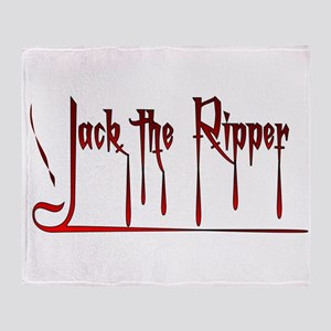 The Ripper Throw Blanket