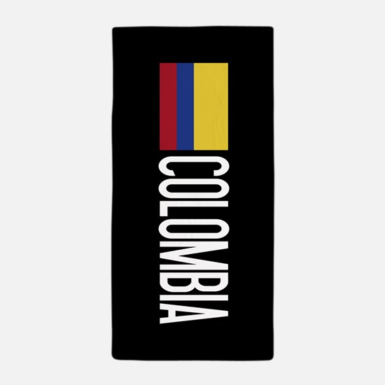 Colombia: Colombian Flag & Colombia Beach Towel