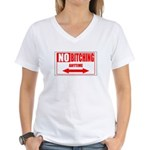 No bitching anytime Women's V-Neck T-Shirt