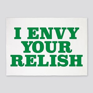 I envy your relish play on words de 5'x7'Area Rug