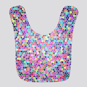 Colorful stained glass Bib
