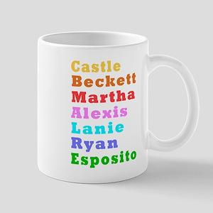 Castle Beckett Mugs