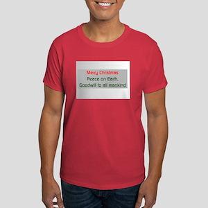 Merry Christmas Dark T-Shirt