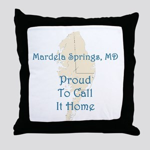 Proud to Call it Home Throw Pillow
