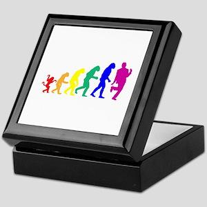 Gay Evolution Keepsake Box