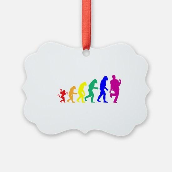 Gay Evolution Ornament
