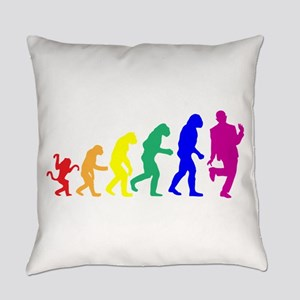 Gay Evolution Everyday Pillow