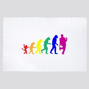 Gay Evolution 4' x 6' Rug