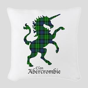 Unicorn - Abercrombie Woven Throw Pillow