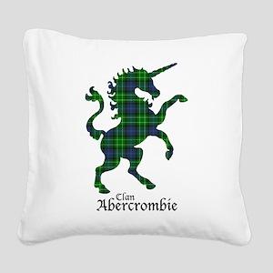 Unicorn - Abercrombie Square Canvas Pillow