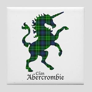 Unicorn - Abercrombie Tile Coaster