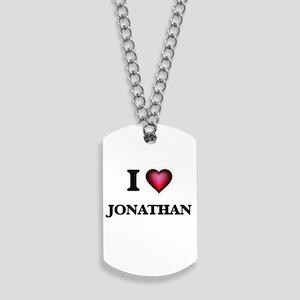 I love Jonathan Dog Tags