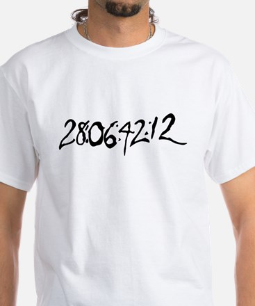 End Of World White T-Shirt