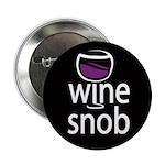 Wine Snob Button