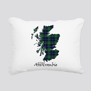 Map - Abercrombie Rectangular Canvas Pillow