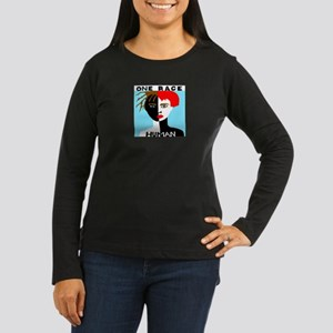 Anti-Racism Women's Long Sleeve Dark T