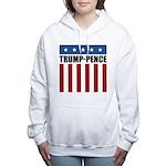 Trump Pence 2016 Women's Hooded Sweatshirt
