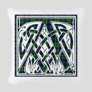 Monogram - Abercrombie Woven Throw Pillow
