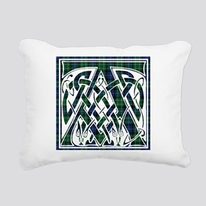 Monogram - Abercrombie Rectangular Canvas Pillow
