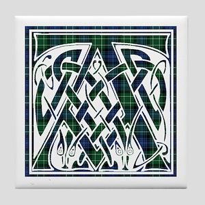 Monogram - Abercrombie Tile Coaster