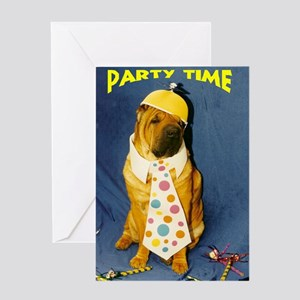 PartyTimePei Greeting Card