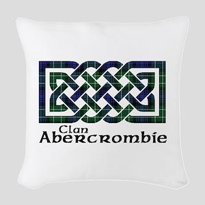 Knot - Abercrombie Woven Throw Pillow