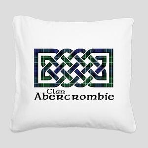 Knot - Abercrombie Square Canvas Pillow