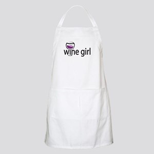 Wine Girl BBQ Apron