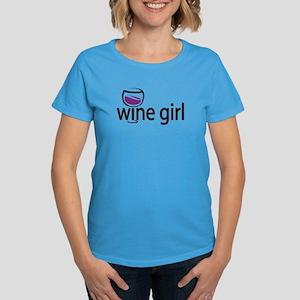Wine Girl Women's Dark T-Shirt