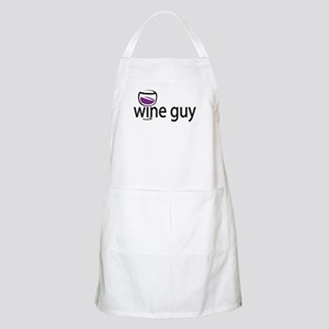 Wine Guy BBQ Apron
