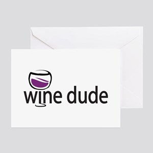 Wine Man Greeting Cards (Pk of 10)