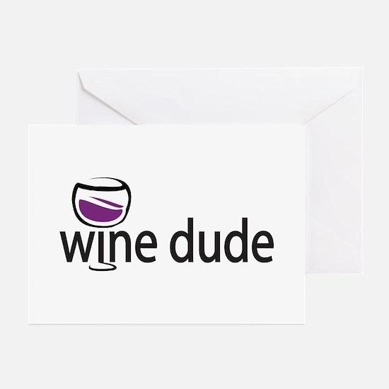 Wine Man Greeting Cards (Pk of 10)
